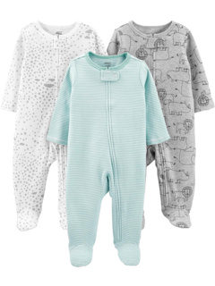 3-Pack Neutral Sleep and Play (Infant) Simple Joys by Carter's
