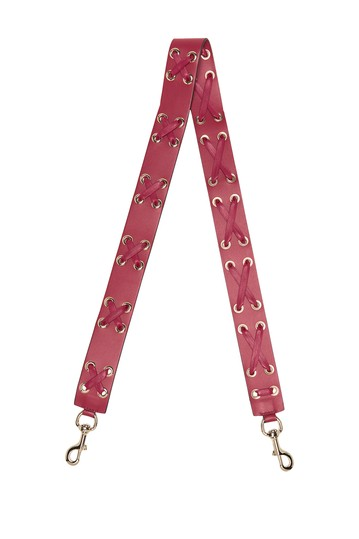 Leather Guitar Strap RED VALENTINO