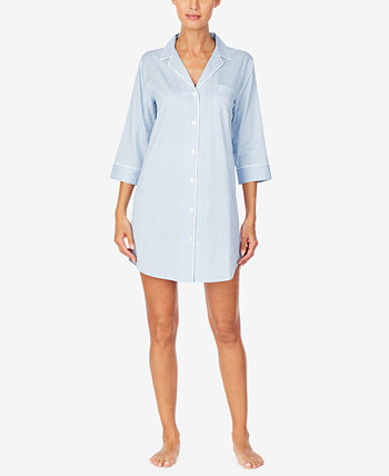 Classic Sateen Sleep Shirt Nightgown Ralph Lauren
