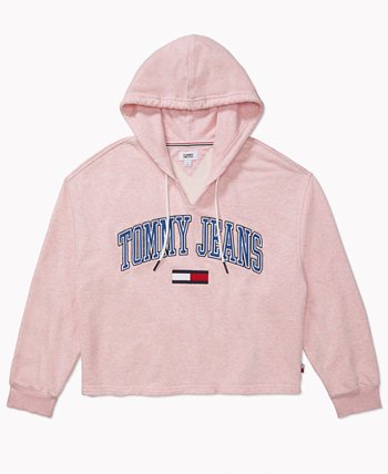 Women's Logo Hoodie with Extended Opening Tommy Hilfiger