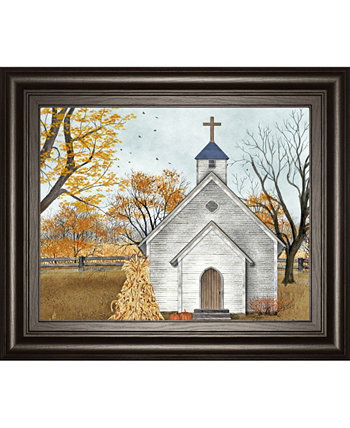 """Blessed Assurance by Billy Jacobs Mirror Framed Print Wall Art - 22"""" x 26"""" Classy Art"""