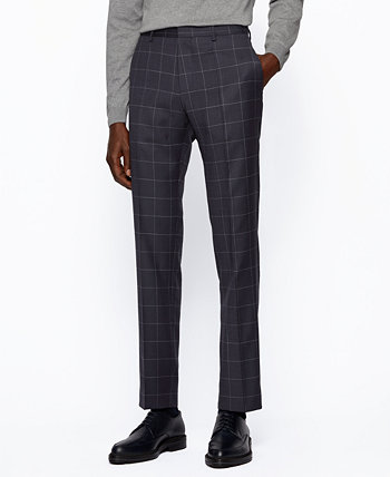 BOSS Men's Genius5 Slim-Fit Trousers BOSS Hugo Boss