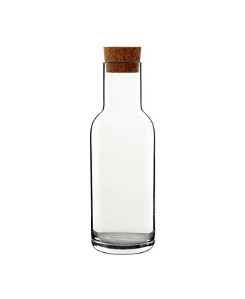 Sublime Carafe with Cork Stopper, 34 Oz Luigi Bormioli