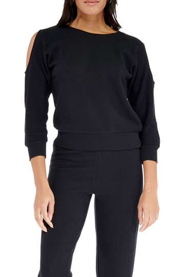 Truth Cold Shoulder Pullover Electric Yoga