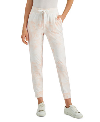 Petite Tie-Dyed Joggers, Created for Macy's Style & Co