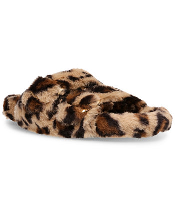 Women's Around Double-Band Footbed Slippers Steve Madden