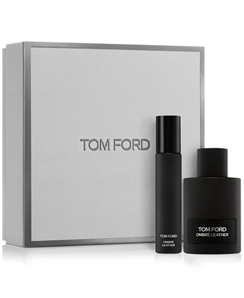2-Pc. Black Orchid & Ombré Leather Travel Spray Set Tom Ford