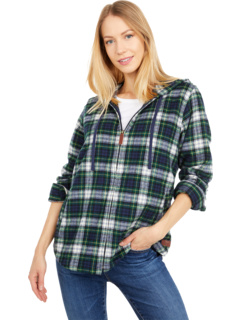 Scotch Plaid Flannel Relaxed Fit Hoodie L.L.Bean