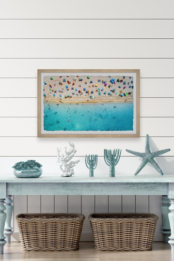 Hectic Beach Wall Art Marmont Hill Inc.