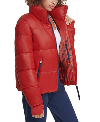 Cropped Puffer Thumbhole Coat Tommy Hilfiger