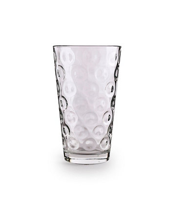 Double Circle Cooler Glasses, Set of 10 Circle Glass