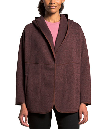 Crescent Wrap Hooded Sweater The North Face