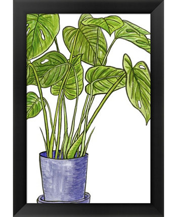 Potted Jungle III By Melissa Wang Framed Art Metaverse