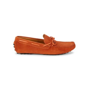 Suede Boat Loafers Saks Fifth Avenue