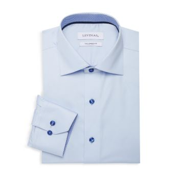 Tailored-Fit Dress Shirt Levinas