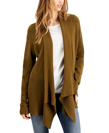 Ribbed Waterfall Cardigan Fever