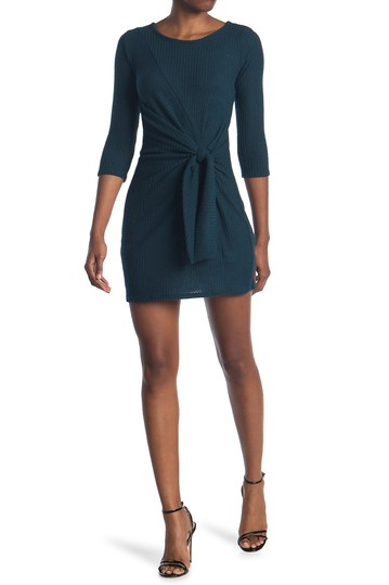 Knot Front Dress BAILEY BLUE