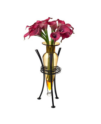 Amphora Vase with Wire Stand Danya B