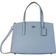 Polished Pebble Leather Charlie Carryall COACH