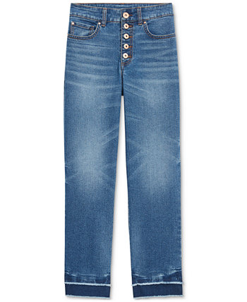 INC Ripped Straight-Leg Jeans, Created for Macy's INC International Concepts