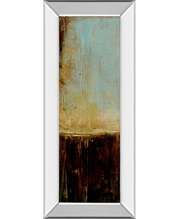 """Flying Without Wings I by Erin Ashley Mirrored Framed Print Wall Art - 18"""" x 42"""" Classy Art"""