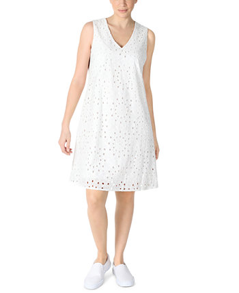Petite Lace Fit & Flare Dress Robbie Bee
