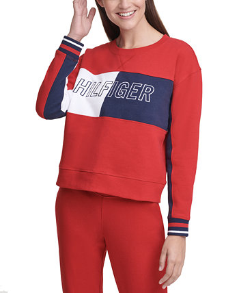 Colorblocked Graphic Sweatshirt Tommy Hilfiger