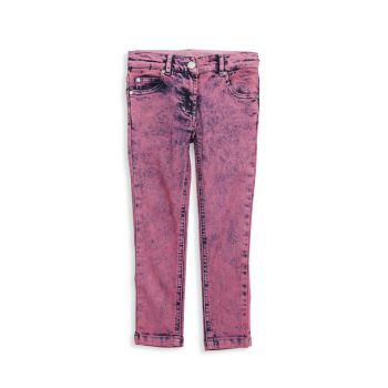 Little Girl's & Girl's Stone Washed Jeans Stella McCartney
