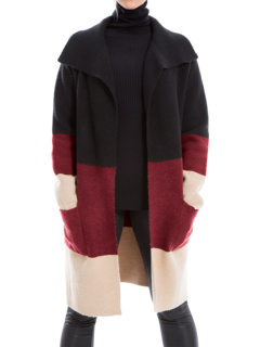 Color-Block Cardigan Max Studio