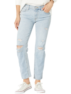 Nico Mid-Rise Crop Straight in New Dawn Hudson Jeans
