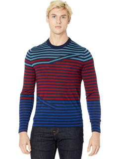 Crew Neck Striped Pullover Sweater Paul Smith