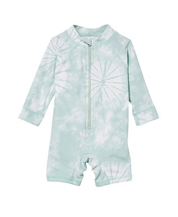 Baby Boy Cameron Long Sleeve Swimsuit COTTON ON