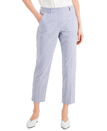 Canasta Striped Ankle Pants Weekend Max Mara