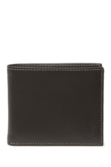 Waxy Leather Bifold Wallet Timberland