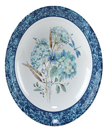 Bohemian Blue Serving Bowl Certified International
