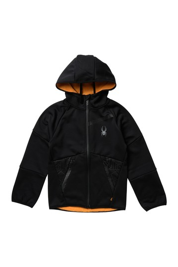 Softshell Zip-Up Hoodie (Биг Бойз) Spyder