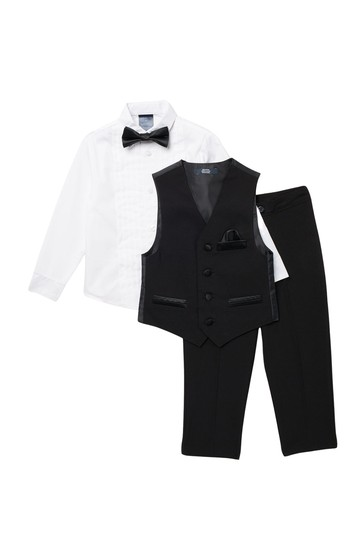 Tuxedo Vest Set (Toddler Boys) Tommy Hilfiger
