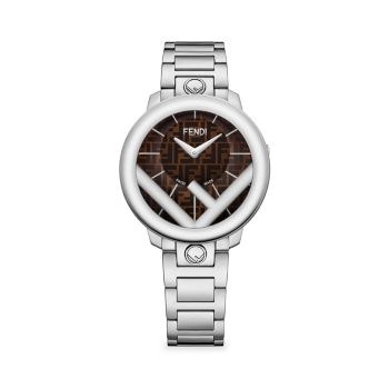 Run Away Stainless Steel Bracelet Watch Fendi Timepieces