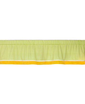 "Animal Collection Pinstripe Window Valance, 60"" x 14"" Carters"