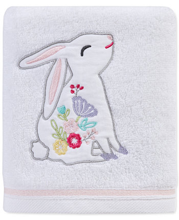 "Spring Bunny 16"" x 28"" Hand Towel, Created for Macy's Martha Stewart Collection"