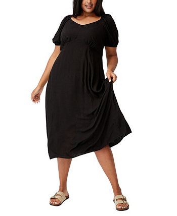 Trendy Plus Size Mary Midi Dress COTTON ON