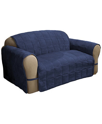 Faux Suede Ultimate Loveseat Protector P/Kaufmann Home