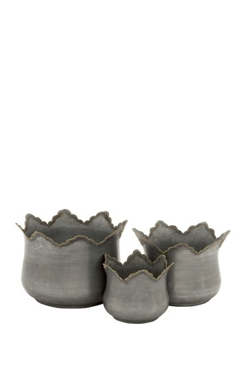 Metal Planter - Set of 3 Willow Row
