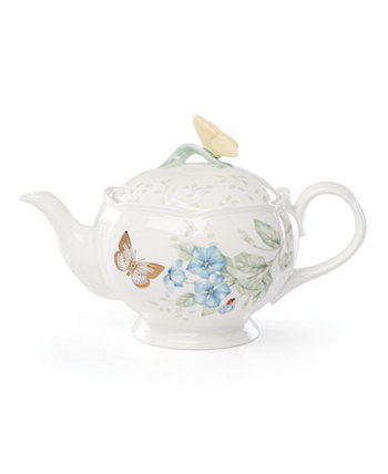 Butterfly Meadow Gold - 20th Anniversary Teapot Lenox