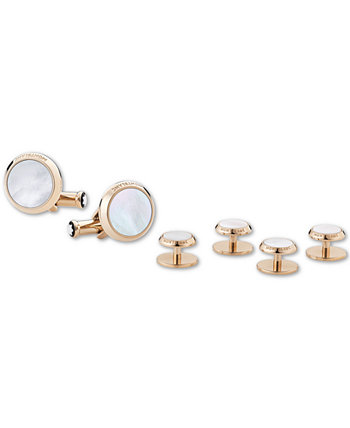 Men's Mother-of-Pearl Cuff Links & Tuxedo Studs Montblanc