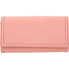 Logan Flap Clutch Fossil