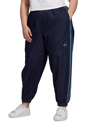 Plus Size Japona Denim Track Pants Adidas