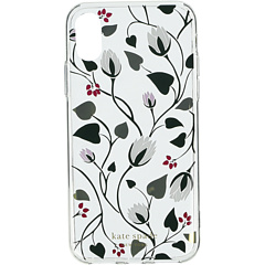 Чехол для телефона Deco Bloom Clear для iPhone XS Kate Spade New York