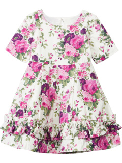 Floral Dress (Toddler/Little Kids/Big Kids) Janie and Jack