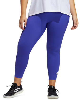 Plus Size Believe This 2.0 Primeblue 7/8 Leggings Adidas